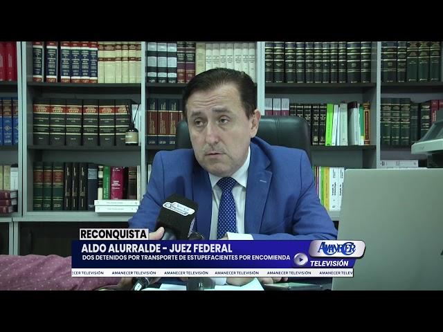 ALDO ALURRALDE - JUEZ FEDERAL