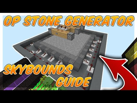 OP STONE GENERATOR!!! | Skybounds Guide #6