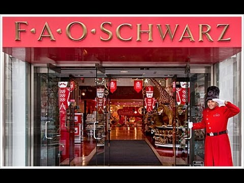 FAO Schwarz Toy Store New York City