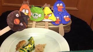 Кукольный театр angry birds. 2 серия. Ужин у Бомба.