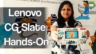 Lenovo CG Slate Hands-On Video