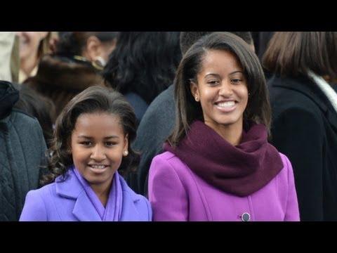 Obama daughters mature in spotlight