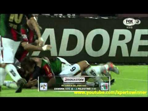 Zamora 0 - 1 Palestino Copa Libertadores 2015