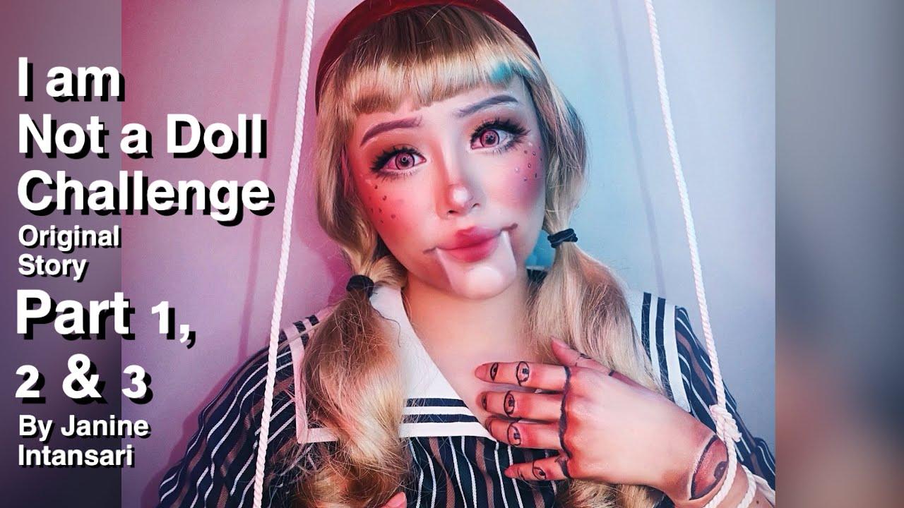 I am Not a Doll Challenge by JANINE INTANSARI || #EgoChallenge #DollChallenge