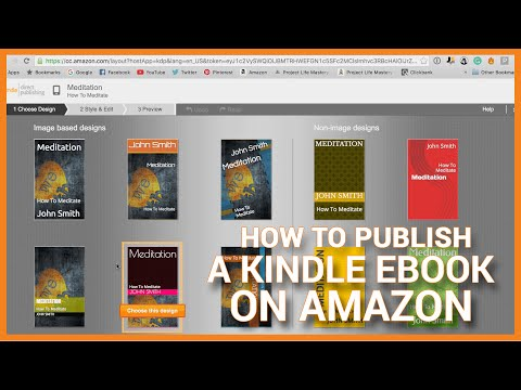 How To Publish A Kindle EBook Today On Amazon