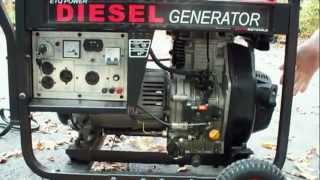 Запуск дизельного генератора на 6 кВт(DieselGenerators в России, реализует генераторы от партнеров из за рубежа DG Ltd, в данном видео представлен запуск..., 2012-11-07T18:04:34.000Z)