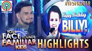 YFSF Kids 2018 Highlights: Billy Crawford celebrates birthday with his YFSF Kids family