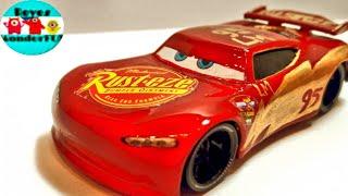 Custom Cars 3 Next Gen Rust-eze Lightning Mcqueen  Diecast scale 1:55