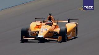 Фернандо Алонсо стал лучшим на тестах новичков  Инди 500
