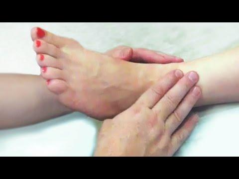 Массаж ступней ног, массаж стоп обучение, рефлекторный