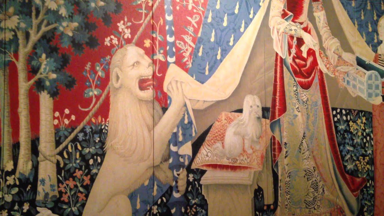 一角獣と貴婦人 わが唯一の望みの 一角獣を従えた貴婦人より 大塚国際美術館 Unicorn And Lady Otsuka Museum Of Art Youtube