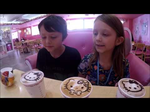 Third Culture Kids - Korean Baseball, Hello Kitty Cafe, fidg