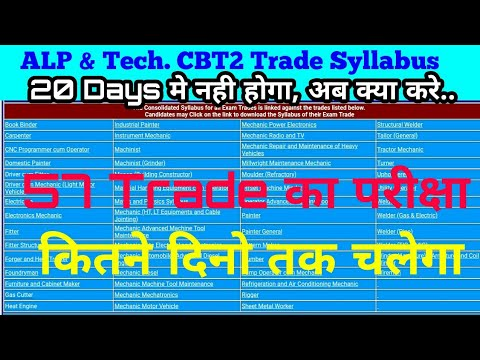 20 दिन मे CBT2 Trade Syllabus कैसे complete करे । All iti Electrician/Wireman/Electronics mechanics