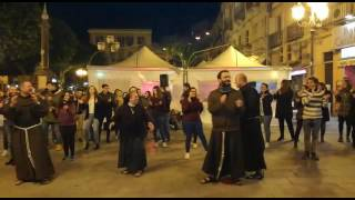 FLASH MOB FRATI FRANCESCANI 2017