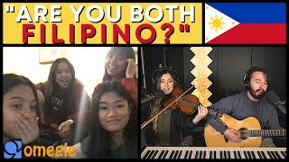 Singing Filipino Songs in Tagalog (Omegle Philippines) OPM