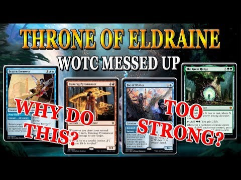 BUSTED CARDS   MTG Throne of Eldraine Spoilers