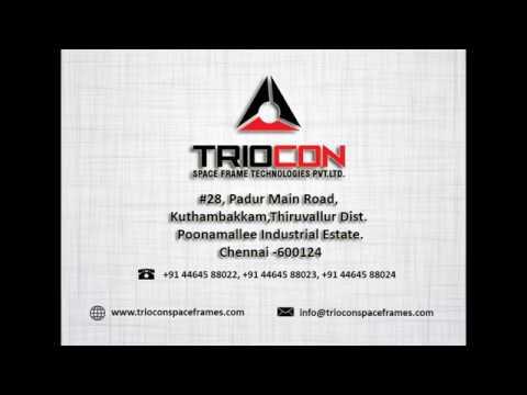 Triocon Space Frame, India Factory