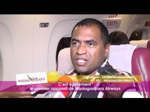 TROISIEME AVION EMBRAER 120 DE MADAGASIKARA AIRWAYS