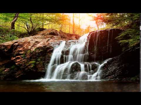 Живые обои для windows7 Осенний водопад,видео обои