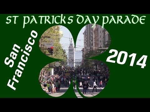 Saint Patrick's Day Parade 2014 San Francisco