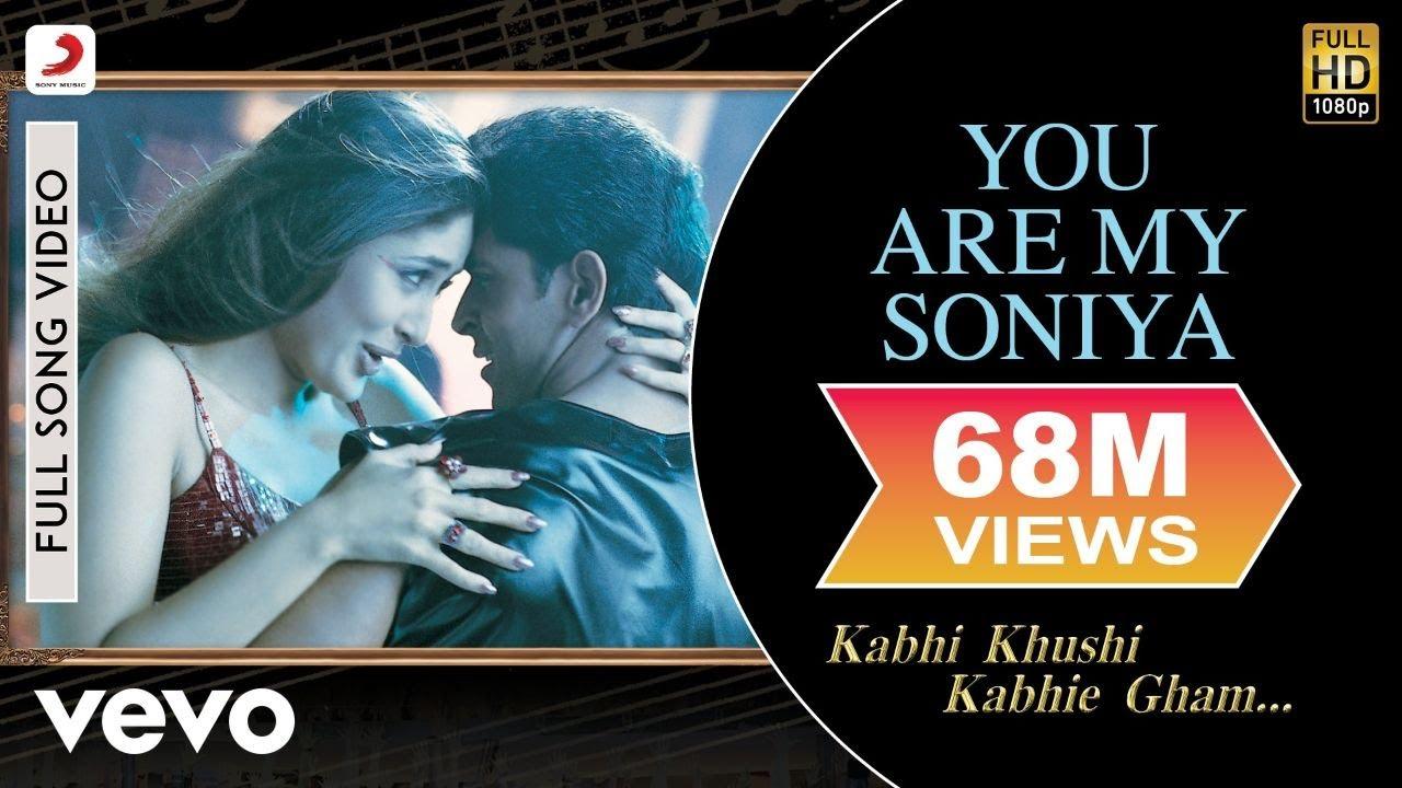 Download You Are My Soniya Full Video - K3G|Kareena Kapoor, Hrithik Roshan|Sonu Nigam, Alka Yagnik