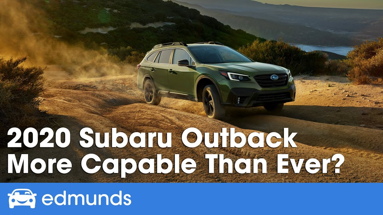 2020 Subaru Outback Test Drive Review More Capable Than Ever