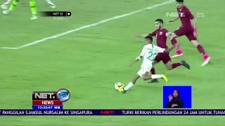 Walaupun Kalah ,Timnas Indonesia VS Qatar Berikan Hujan Gol- NET 12