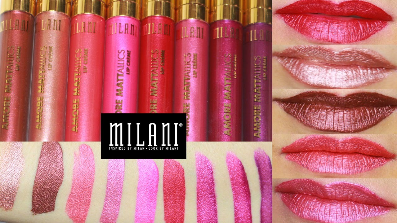 New Milani Amore Mattallics Liquid Lipstick Kylie Jenner