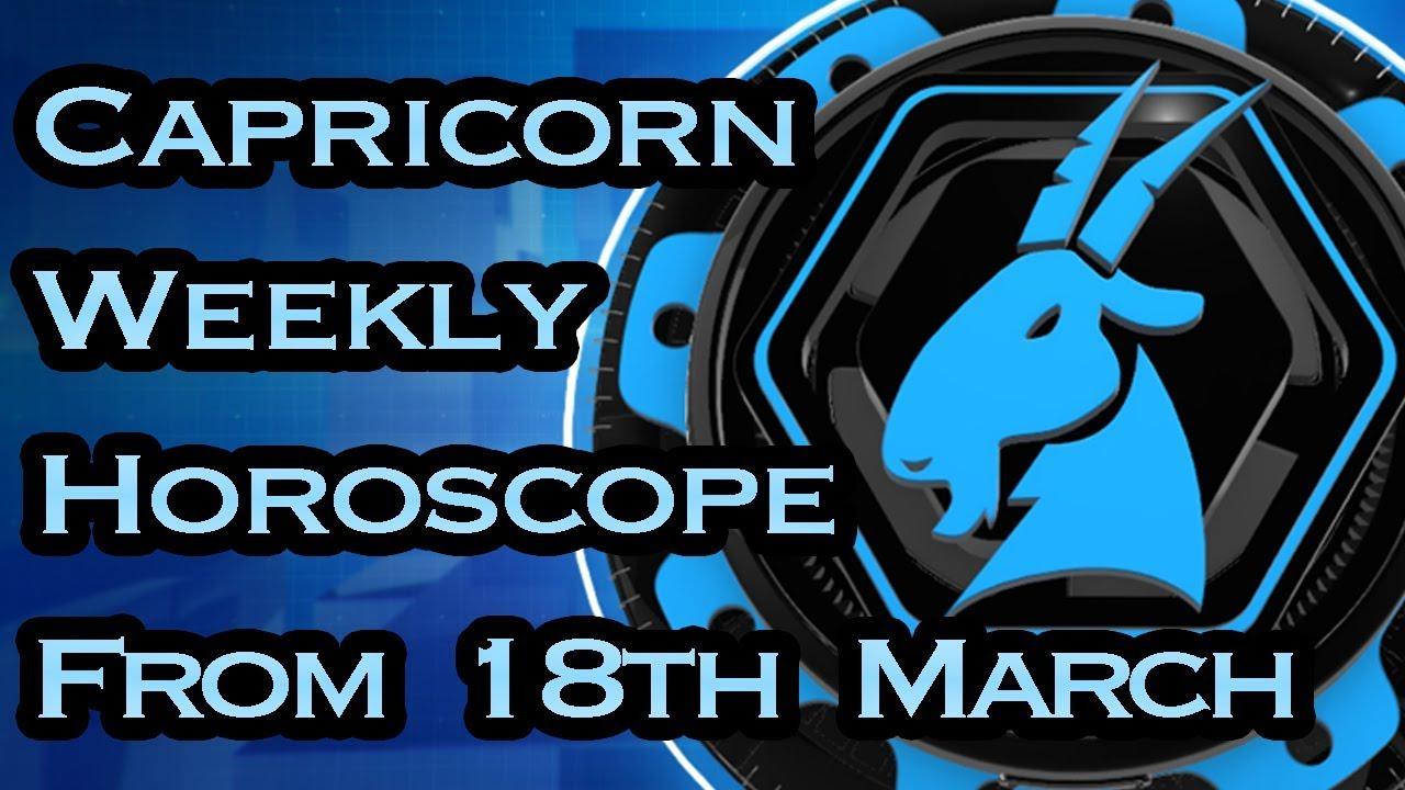 18 march horoscope capricorn or capricorn