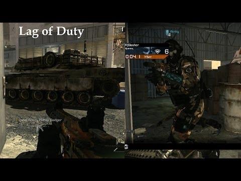 Суть лагов в Call of Duty: Ghosts