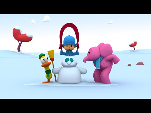 Покойо на русском языке - Снеговик - Мультики про зиму и Новый год
