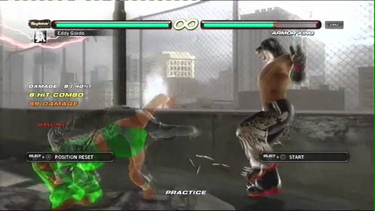 Tekken 6 Combo Video Eddy Gordo Youtube