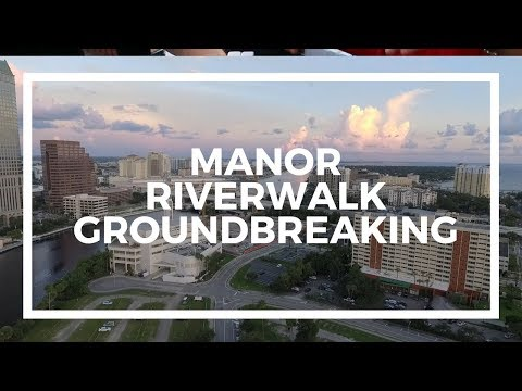 Manor Riverwalk Groundbreaking