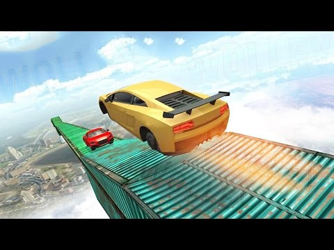 Impossible Tracks 3D - Android Gameplay HD - Extreme Stunt Race Car Driving Games For Kids