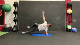EricCressey.com: Side Bridge with Top Leg March