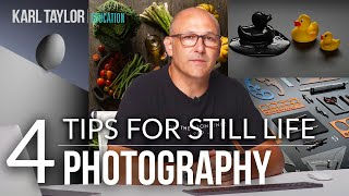 4 Tips for More Creative Still Life Photography