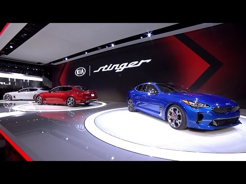 2018 Kia Stinger Revealed at the North American International Auto Show