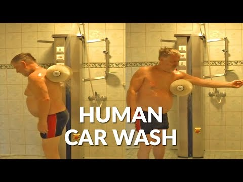 EJ - Man Creates Shower Tool That Mimics A Car Wash