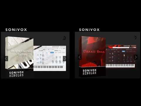 Sonivox Bright Electric Guitar Sometimes I Feel Like Screaming
