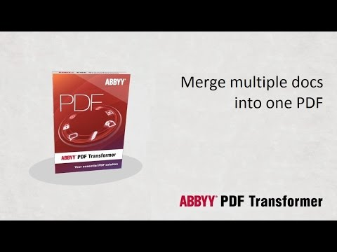 Merge multiple documents into one pdf file youtube for Combine documents into pdf