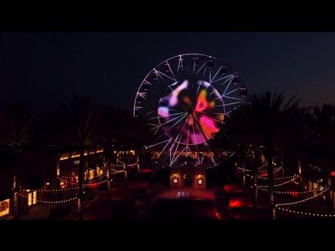 Redesigned Irvine Spectrum Ferris Wheel Now Illuminated by LED Light Show