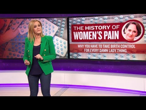The History Of Women's Pain   March 21, 2018 Act 2, Part 2   Full Frontal on TBS