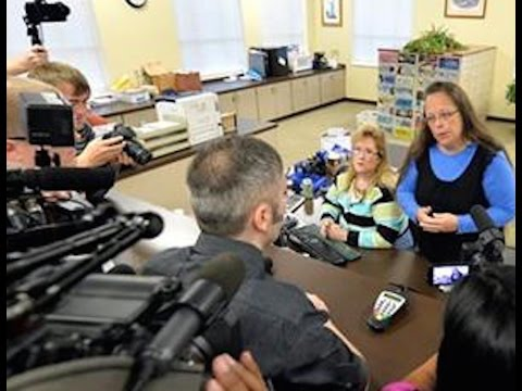 Anti-Gay Marriage Clerk Kim Davis Goes To Jail