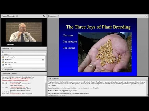 Challenges of Plant Breeding: History and Current Status: Genomic Selection (2012)