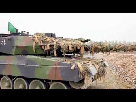 US 7th Army JMTC   Leopard 2A6 Main Battle Tanks & C1 Ariete Main Battle Tanks 1080p