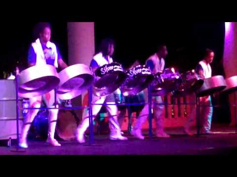 Silver Birds Steel Drum Band in Ocho Rios, Jamaica