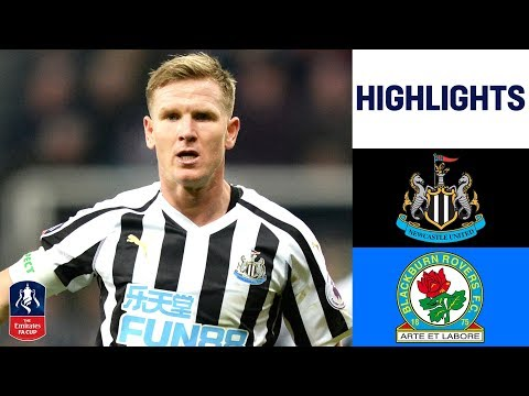 Newcastle 1-1 Blackburn | Matt Ritchie Penalty Earns Newcastle Replay | Emirates FA Cup 18/19