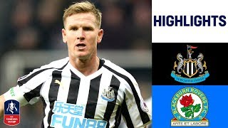 Matt Ritchie Penalty Earns Newcastle Replay | Newcastle 1-1 Blackburn | Emirates FA Cup 18/19