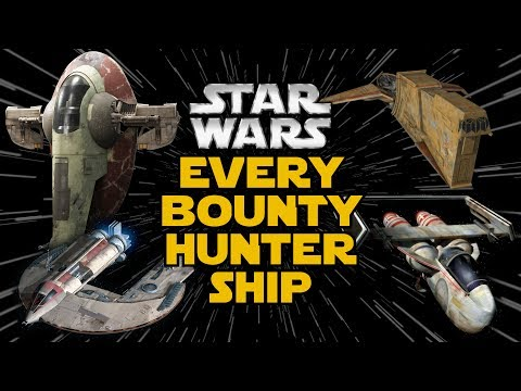 Every Bounty Hunter's Ship