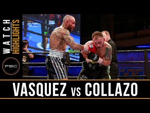 Vasquez vs Collazo HIGHLIGHTS: February 2, 2017 - PBC on FS1